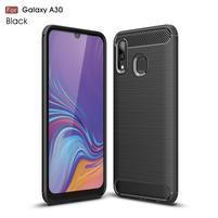 Carbon gelový obal na mobil Samsung Galaxy A30 / A20 - černý