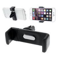 Car univerzální držák pro mobil do větráku - černý