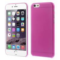 Ultra slim 0.3 mm plastové pouzdro na iPhone 6, 4.7  - růžové