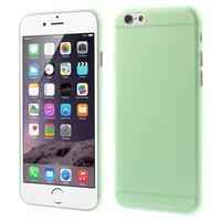 Ultra slim 0.3 mm plastové pouzdro na iPhone 6, 4.7  - zelené