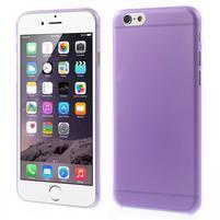 Ultra slim 0.3 mm plastové pouzdro na iPhone 6, 4.7  - fialové