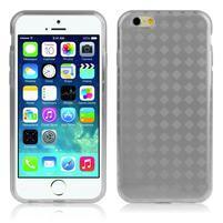 Gelové koskované pouzdro na iPhone 6, 4.7 - šedé