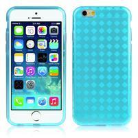 Gelové koskované pouzdro na iPhone 6, 4.7 - modré