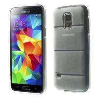 Gelové pouzdro na Samsung Galaxy S5 mini G-800- vesta transparentní