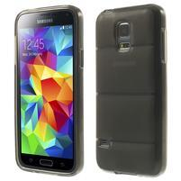 Gelové pouzdro na Samsung Galaxy S5 mini G-800- vesta šedá