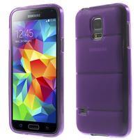 Gelové pouzdro na Samsung Galaxy S5 mini G-800- vesta fialová