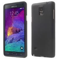 Gelové pouzdro na Samsung Galaxy Note 4- černé