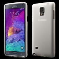 Gelové pouzdro na Samsung Galaxy Note 4- transparentní