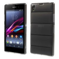 Gelové Body pouzdro na Sony Xperia Z1 C6903 - šedé
