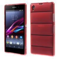 Gelové Body pouzdro na Sony Xperia Z1 C6903 - červené