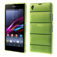 Gelové Body pouzdro na Sony Xperia Z1 C6903 - zelené