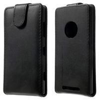 Flipové pouzdro na Nokia Lumia 830 - černé