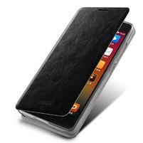 Flipové PU kožené pouzdro na Xiaomi Mi4- černé