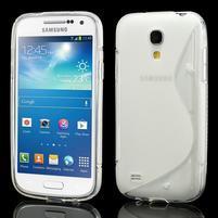 Gelové S-line pouzdro pro Samsung Galaxy S4 mini i9190, i9192, GT-i9195 - transparentní