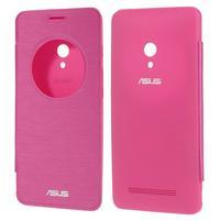 Flipové pouzdro na Asus Zenfone 5 - růžové