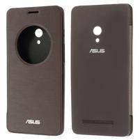 Flipové pouzdro na Asus Zenfone 5 - coffee