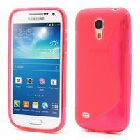 Gelové S-line pouzdro pro Samsung Galaxy S4 mini i9190, i9192, GT-i9195 - rose