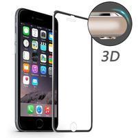 Hat celopološné fixační tvrzené sklo s 3D rohy na iPhone 7 Plus - černé