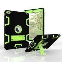 Hybridní odolný obal na iPad Air - zelený