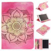 Patty klopové pouzdro na iPad Air - rose lotus