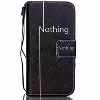 Motive PU kožené pouzdro na iPhone 5C - nothing