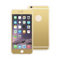 Guards sada předního a zadního tvrzeného skla na iPhone 6 Plus a 6s Plus - zlatá