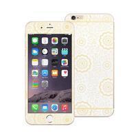 Protect sada přední a zadní ochranné tvrzené sklo na iPhone 6 Plus a 6s Plus - bílá