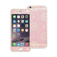 Protect sada přední a zadní ochranné tvrzené sklo na iPhone 6 Plus a 6s Plus - růžová