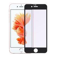 UVP celoplošné ochranné tvrzené sklo na iPhone 6 Plus a 6s Plus - černý lem