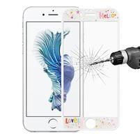 3D glass celoplošné ochranné tvrzené sklo na iPhone 6 Plus a 6s Plus - hello
