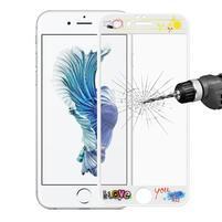 3D glass celoplošné ochranné tvrzené sklo na iPhone 6 Plus a 6s Plus - i love you