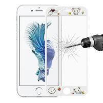 3D glass celoplošné ochranné tvrzené sklo na iPhone 6 Plus a 6s Plus - pes