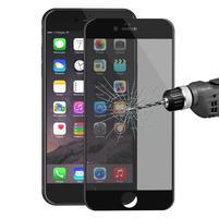 Cover rámované celoplošné tvrzené sklo na iPhone 6s Plus a 6 Plus - černý lem