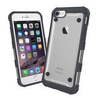 Bumper style hybridní obal na iPhone 7 a iPhone 8 - černý