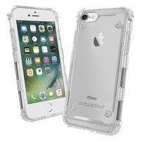 Bumper style hybridní obal na iPhone 7 a iPhone 8 - transparentní