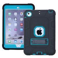 Protect odolný hybridní obal na iPad mini / iPad mini 2 / iPad mini 3 - modrý