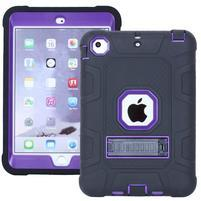 Protect odolný hybridní obal na iPad mini / iPad mini 2 / iPad mini 3 - fialový