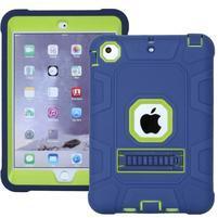 Protect odolný hybridní obal na iPad mini / iPad mini 2 / iPad mini 3 - modrý/zelený