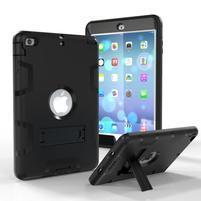Full hybridní odolný obal na iPad mini 3 / iPad mini 2 / iPad mini - černý