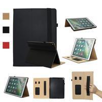 Litch PU kožené pouzdro s funkcí stojánku na iPad Pro 12.9 (2017) - černé