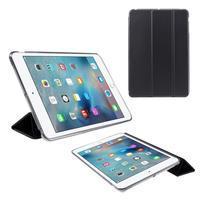 Foldy polohovatelné pouzdro se skládací klopou na iPad mini 3, iPad mini 2, iPad mini - černé