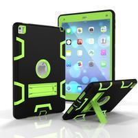 Stand hybridní odolný obal na iPad Pro 9.7 - zelený