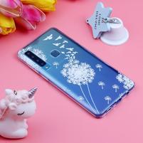 Pattern gelový obal na Samsung Galaxy A9 - pampeliška