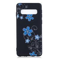 Printy gelový obal na mobil Samsung Galaxy S10 - květiny