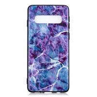 Printy gelový obal na mobil Samsung Galaxy S10 - mramor