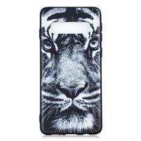 Printy gelový obal na mobil Samsung Galaxy S10 - tygr