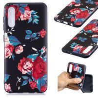 Patt gelový obal na Samsung Galaxy A50 - růže