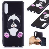 Patt gelový obal na Samsung Galaxy A50 - roztomilá panda