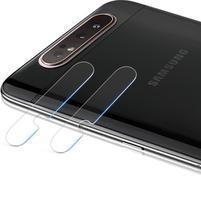 IMK ochranné sklo čočky fotoaparátu na mobil Samsung Galaxy A80/A90 - 2 ks