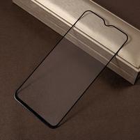 Silk celoplošné tvrzené sklo na mobil Samsung Galaxy M20 - černý lem
